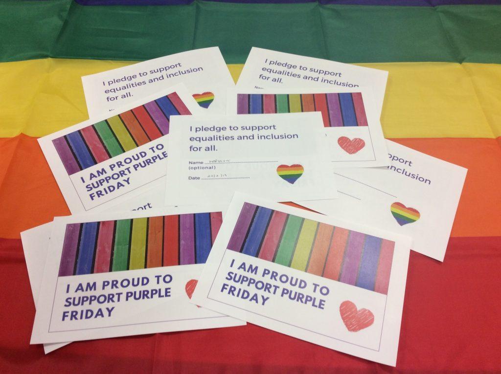 Practice-Pledge-cards-and-rainbow-flag