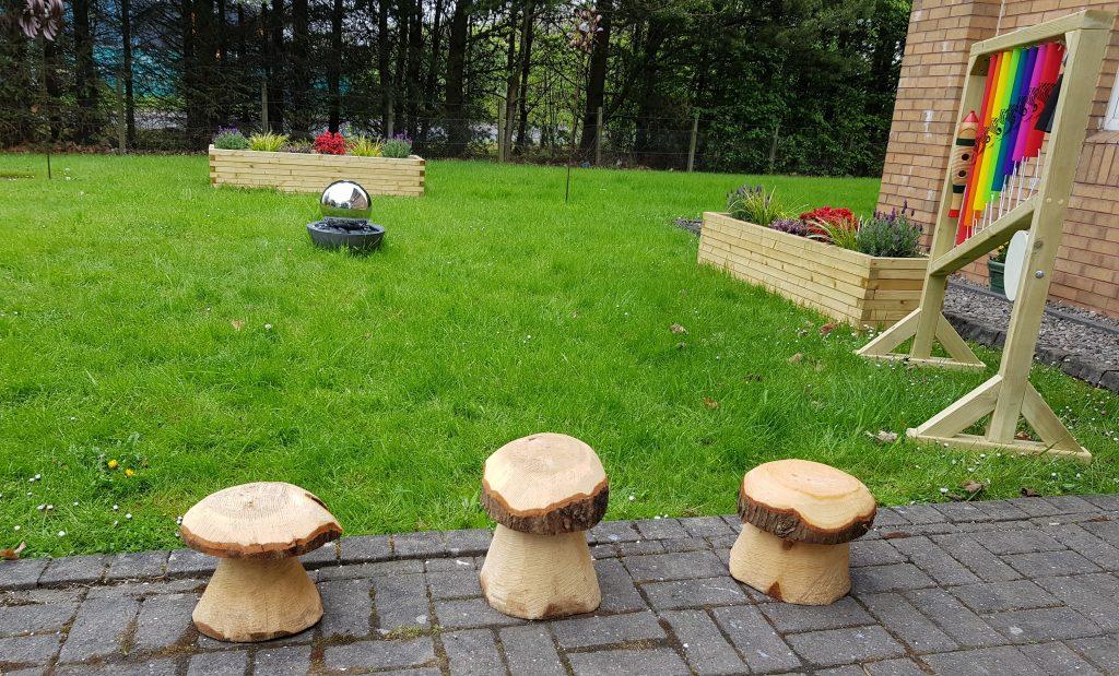 Mushrooms-sensory-garden