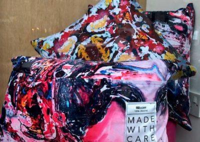 Close up cushions
